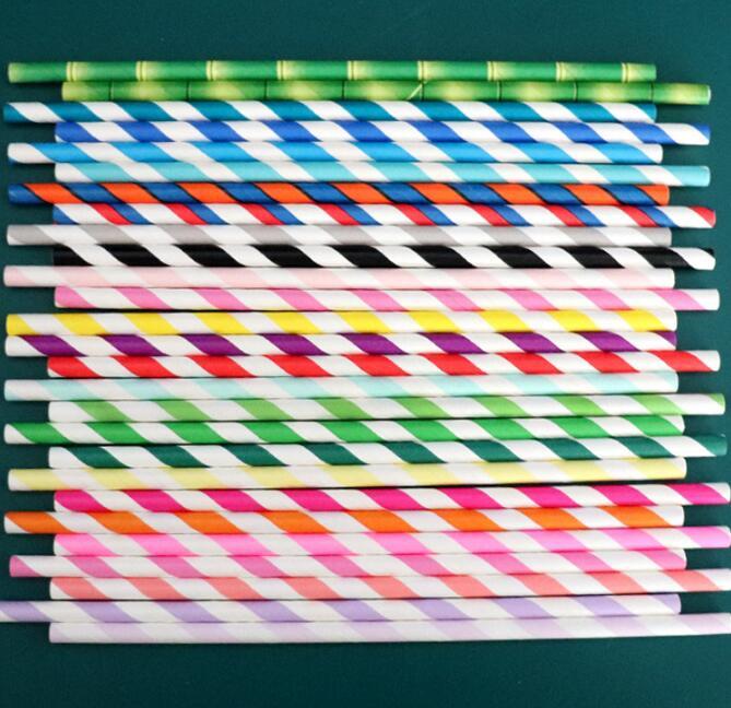 Printed Straw