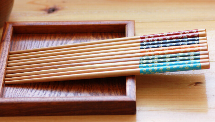 Hotsale printed chopsticks