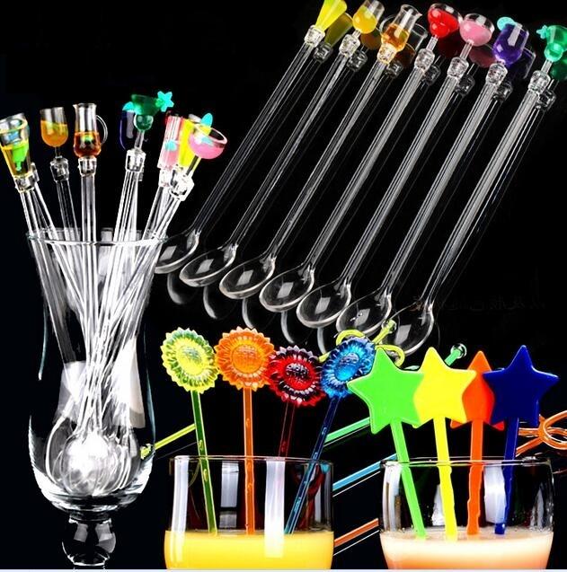 Creative swizzle sticks