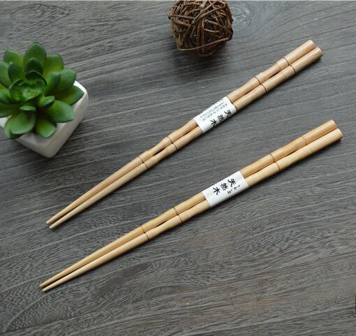 Family chopstick in bamboo