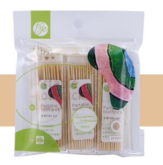 Bottled toothpicks