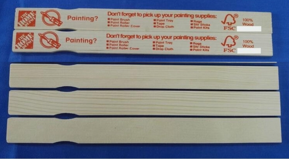 Paint stir sticks