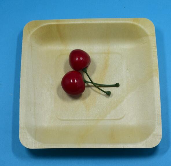 Wood plate